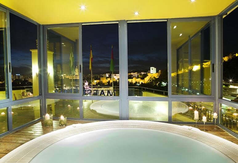 Hotel MS Maestranza, Málaga, Indoor Spa Tub