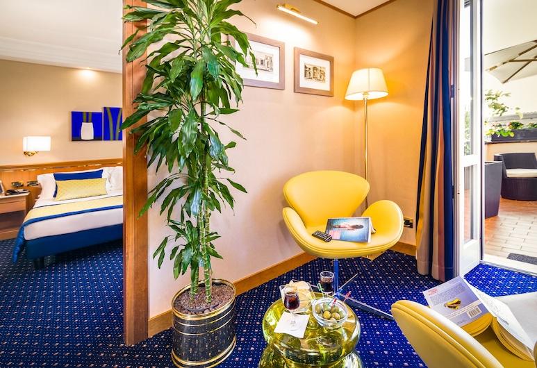 戴克里澤諾酒店, 羅馬, 豪華雙人房, 客廳