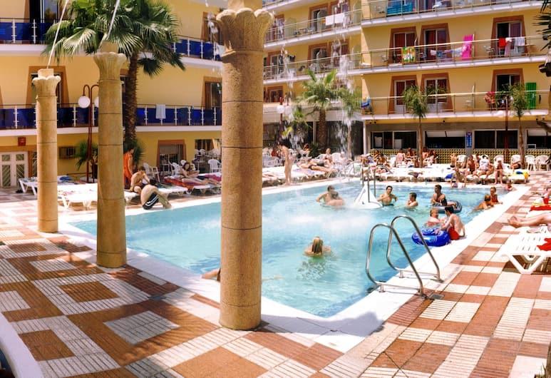Cleopatra Spa Hotel, Lloret de Mar, Terrasse/Patio