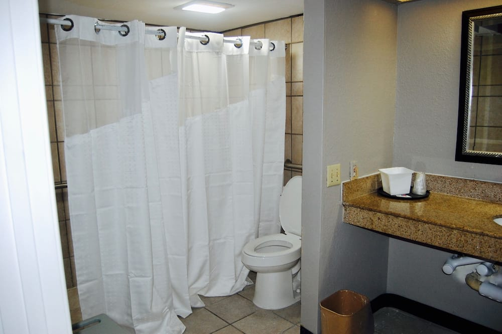 Deluxe Room, 1 King Bed, Accessible, Smoking - Bathroom