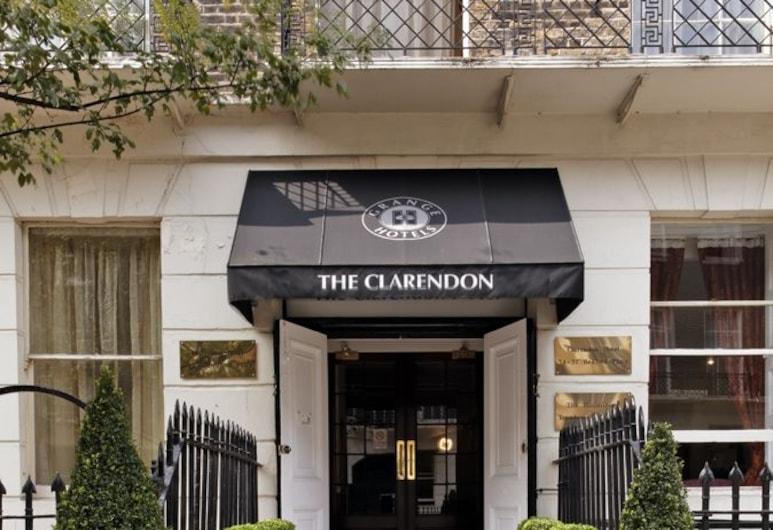 格蘭吉克萊倫登酒店, 倫敦, 酒店入口