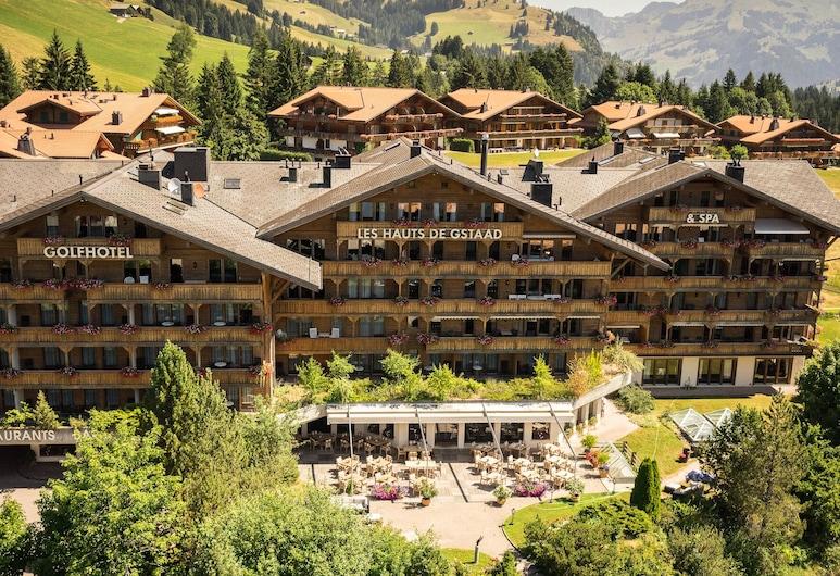 Golfhotel Les Hauts de Gstaad & SPA, Σάανεν, Πρόσοψη ξενοδοχείου