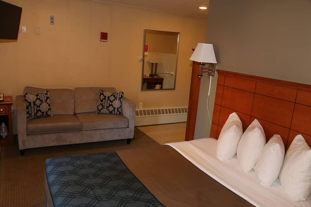 Zimmer, 1Queen-Bett und Schlafsofa, Nichtraucher - Wohnbereich
