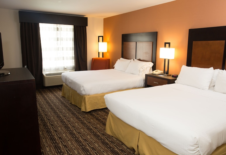 ฮอลิเดย์อินน์เอ็กซ์เพรส โฮเทลแอนด์สวีทส์ เชอโรกี/คาสิโน, เชโรกี, ห้องพัก, เตียงควีนไซส์ 2 เตียง, ปลอดบุหรี่, ห้องพัก