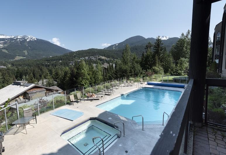 The Ironwood by Whiski Jack, Whistler, Condominio, 2 habitaciones (Unit 105), Vista a la montaña