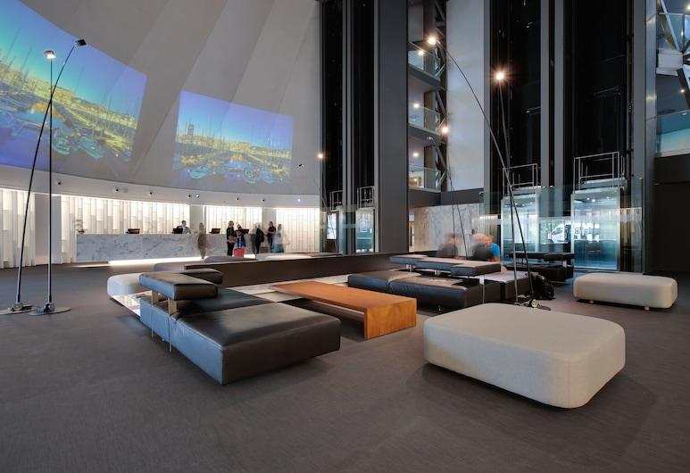 Barcelona Airport Hotel, El Prat de Llobregat, Sitzecke in der Lobby