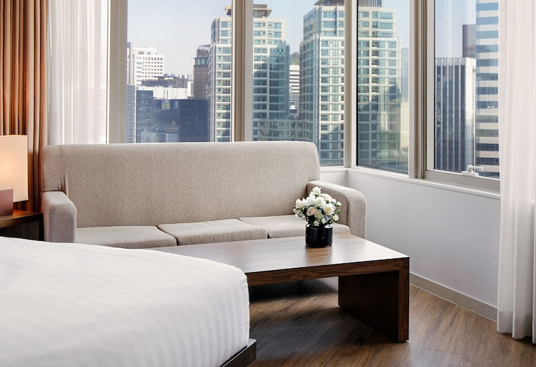 Vabien Suites II Serviced Residence, Seoul, Superior Family Twin (4 People), View from room
