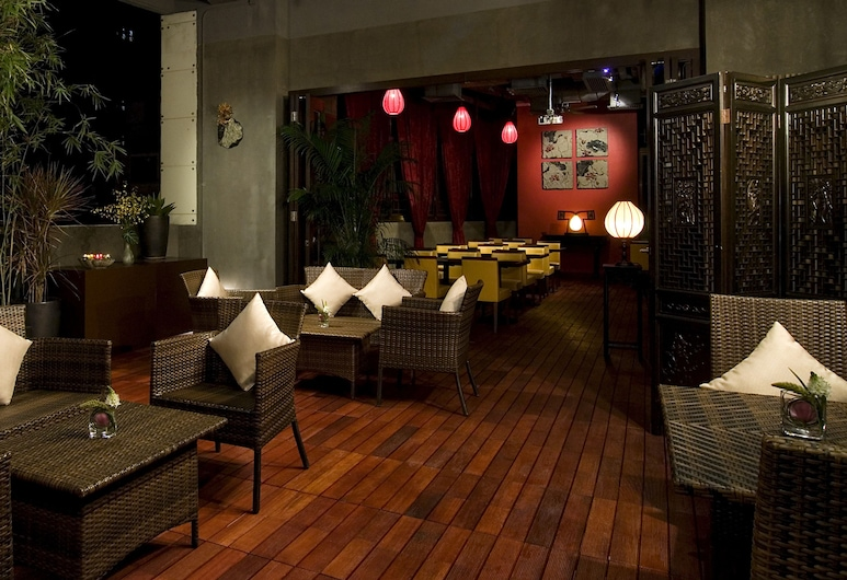 Lan Kwai Fong Hotel @ Kau U Fong, Hongkong, Hotelový salonek