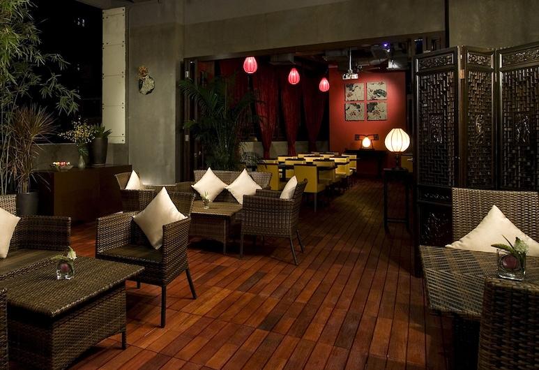 Lan Kwai Fong Hotel @ Kau U Fong (Designated Quarantine Hotel), Hong Kong, Hotelový salónik