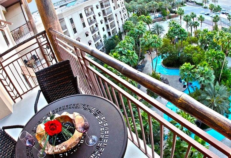 Tahiti Village Resort & Spa, לאס וגאס, חדר סטנדרט, חדר שינה אחד, מטבח, מרפסת/פטיו