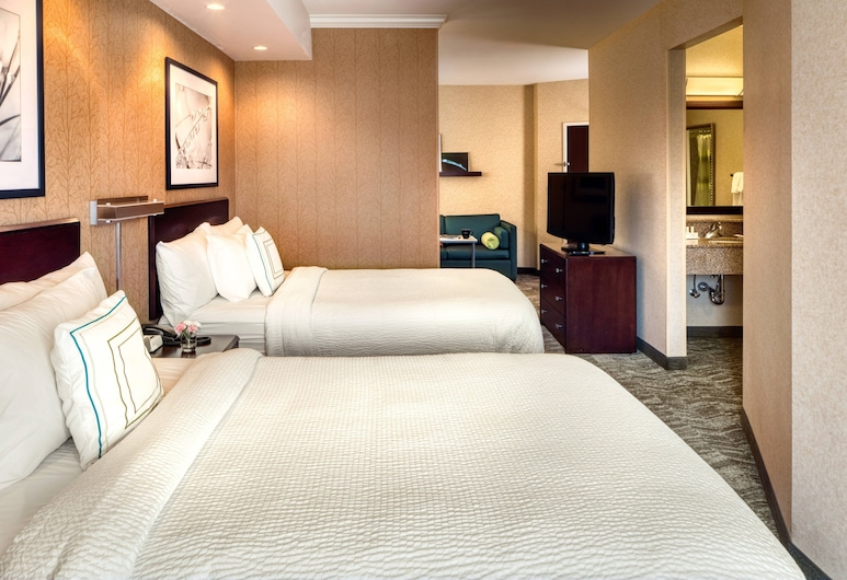 SpringHill Suites by Marriott Salt Lake City Downtown, Salt Lake City, Suite, 2 camas dobles, no fumadores, Habitación