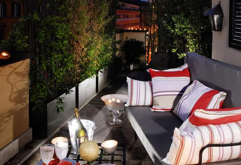 The Opera Hotel, Rom, Junior-suite - terrasse (2 pax), Værelse