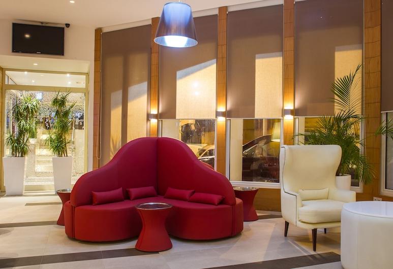 Golf Royal Hotel, Túnez, Sala de estar en el lobby