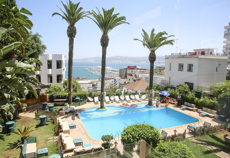 Hotel Rembrandt, Tangier, Pool