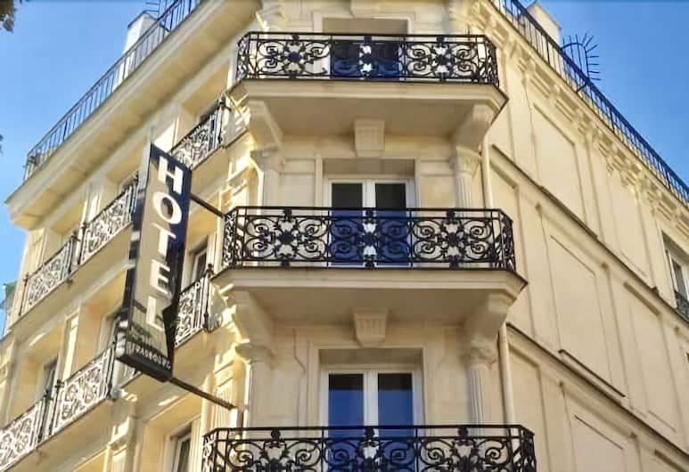 호텔 리에주 스트라스부르, 파리, 호텔 정면