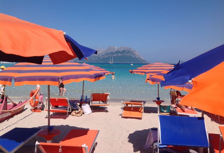 Hotel Daniel, Olbia, Beach