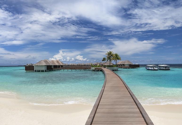 W Maldives, Fesdu-sziget, Hotel homlokzata