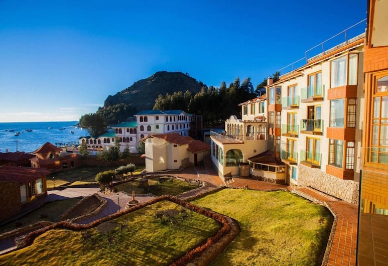 Hotel Rosario Lago Titicaca, Copacabana, Fachada del hotel