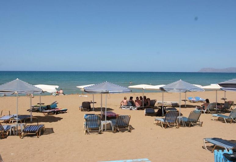 Koukouras Hotel, Chania, Pláž