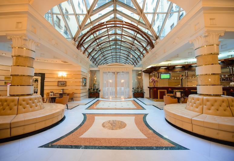 Отель Ambassador, Санкт-Петербург, Интерьер, вход