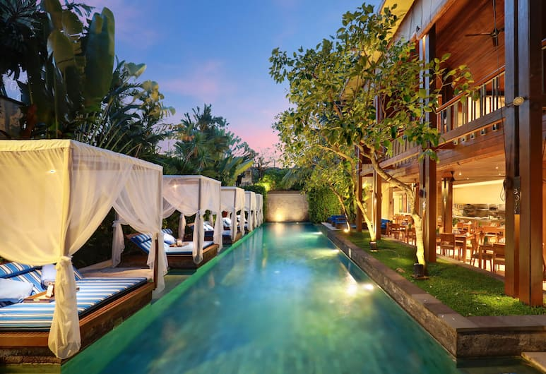 The Elysian Boutique Villa Hotel, Seminyak, Havuz