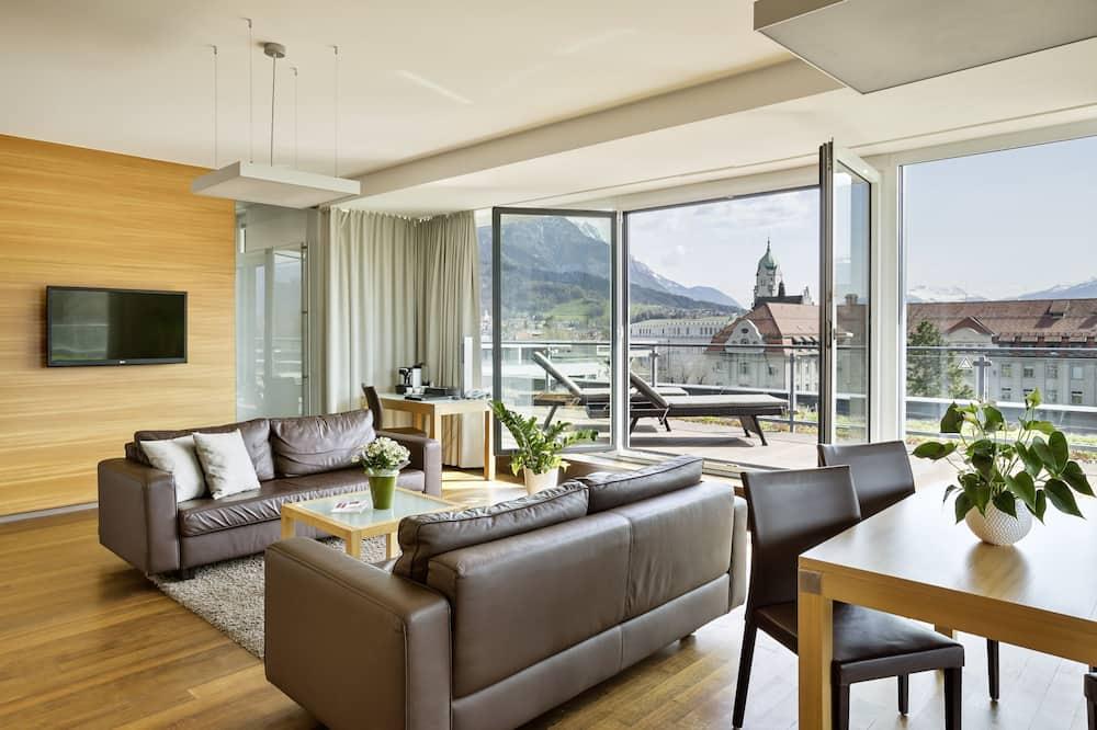 Panoramic-Suite - Wohnbereich
