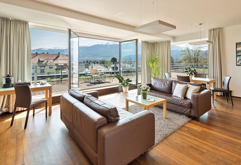 Austria Trend Hotel Congress Innsbruck, Innsbruck, Suite panoramica, Vista dalla camera
