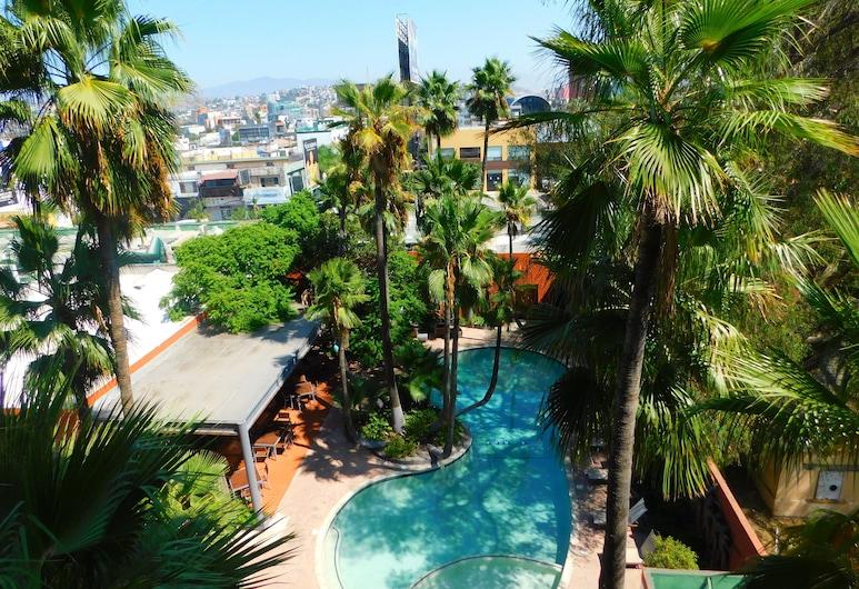 Hotel Palacio Azteca, Tijuana, Suite, Vista de la habitación