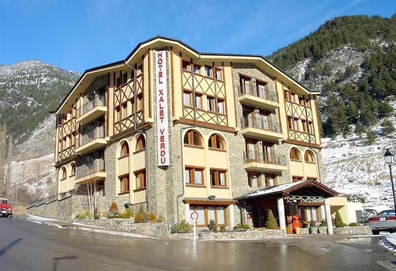 Hotel Xalet Verdú, Arinsal, Mặt tiền khách sạn
