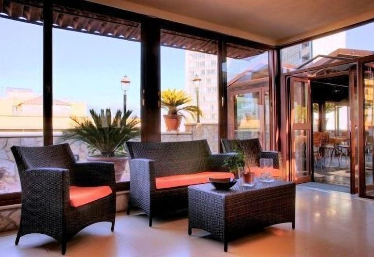 Hotel Eden, Napoli, Hotellin lounge