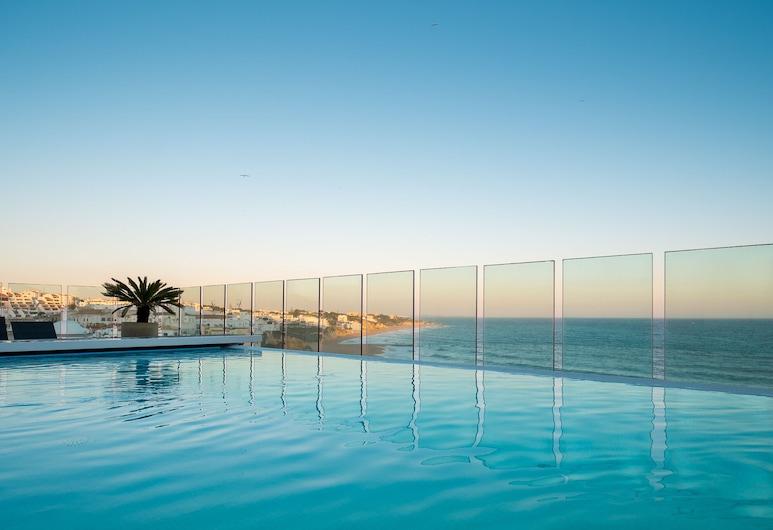 Rocamar Exclusive Hotel Spa Adults Only , Albufeira, Endeløst basseng