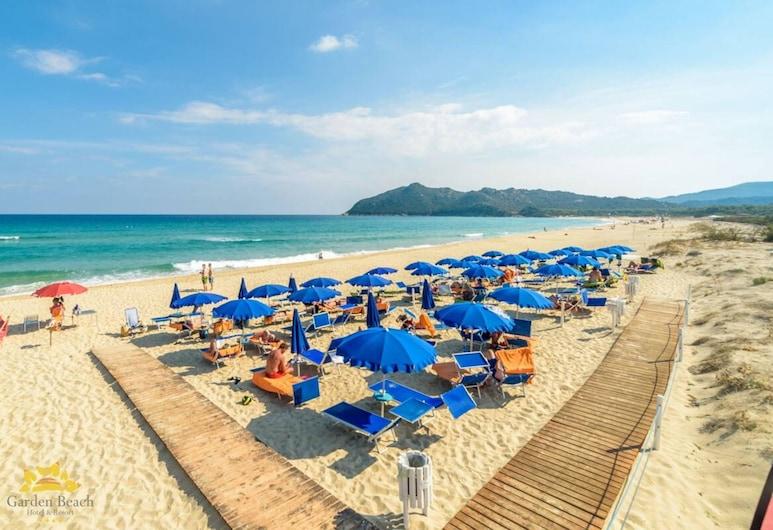 Hotel Garden Beach, Castiadas, Strand