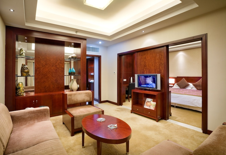 Yanling Hotel, Guangzhou, Deluxe Suite, Guest Room