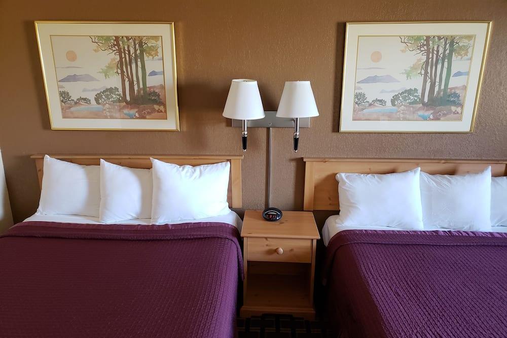 Standard Oda, 2 Çift Kişilik Yatak, Sigara İçilmez, Buzdolabı ve Mikrodalga - Oda