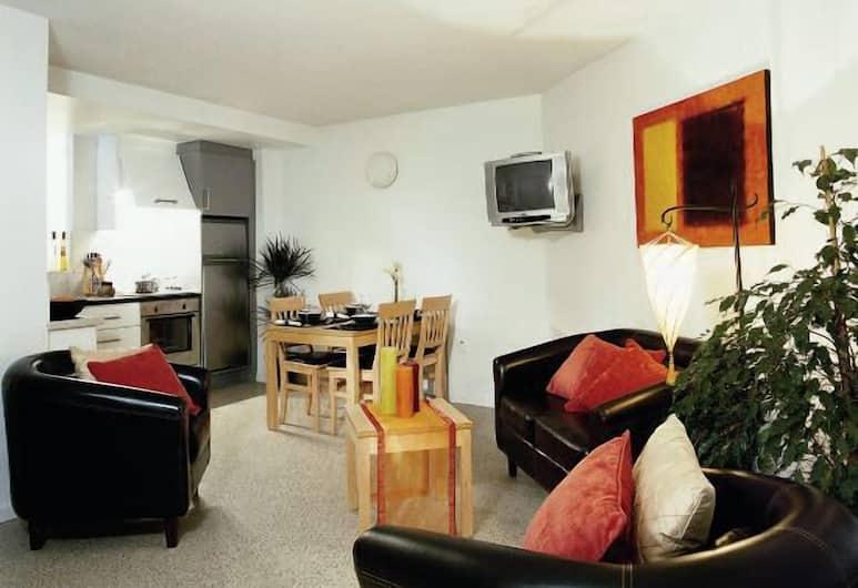 Riverwalk Student Accommodation, Waterford, Standardni apartman, 3 spavaće sobe, Dnevni boravak