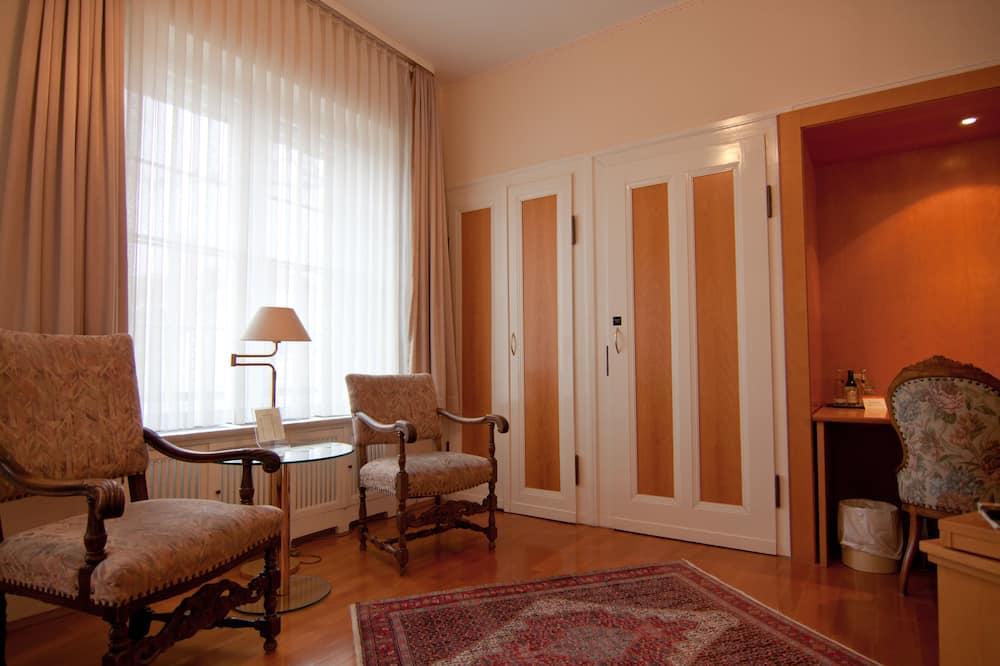 Habitación individual superior - Sala de estar