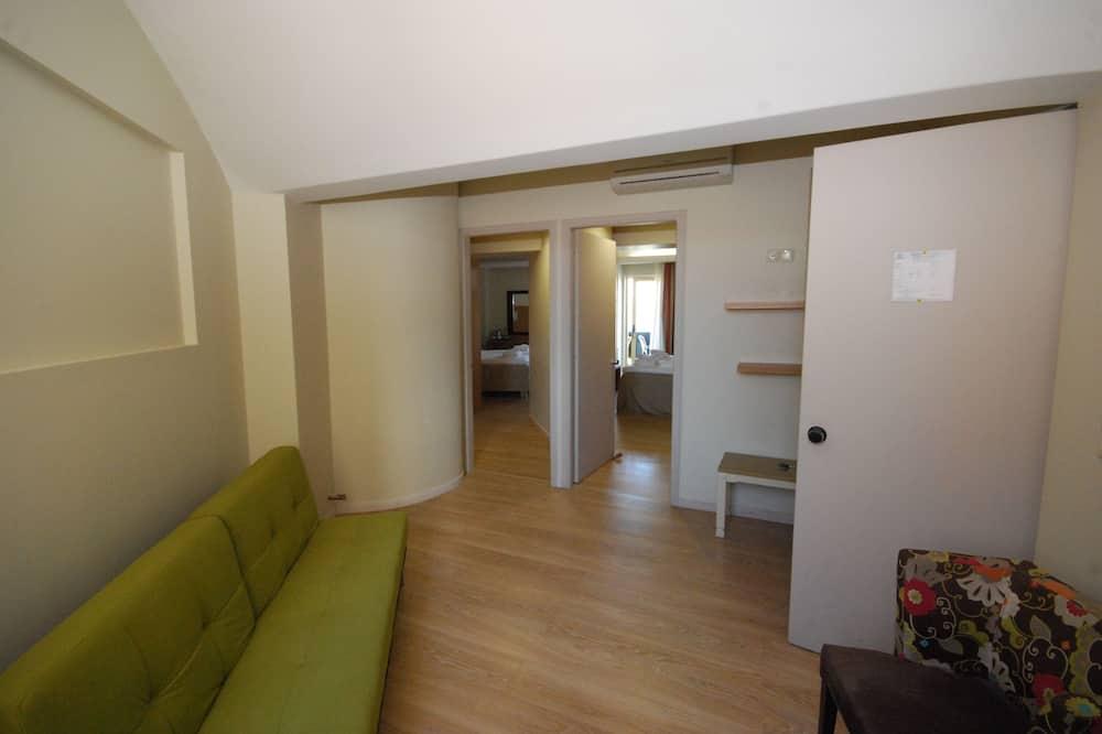 Suite – family, 2 soverom, utsikt mot sjø - Stue