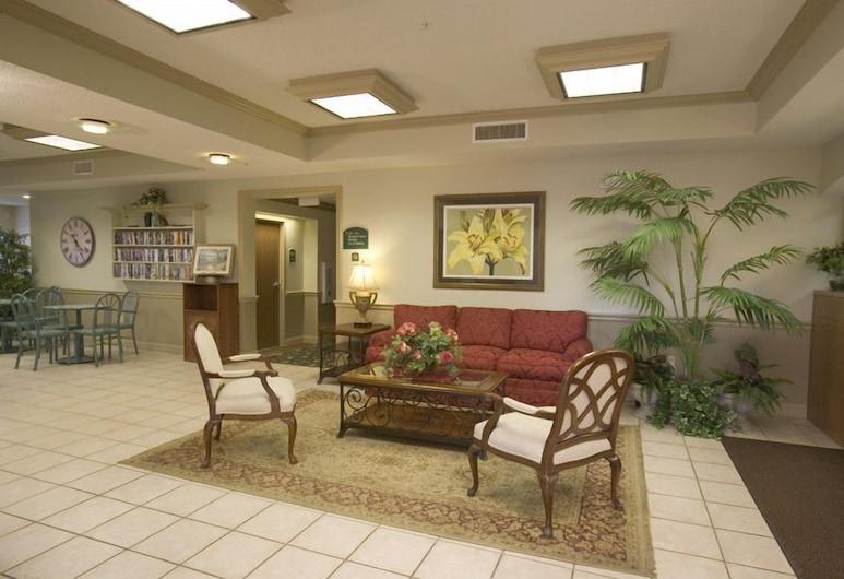 Wesley Inn, Wichita, Sitteområde i lobbyen