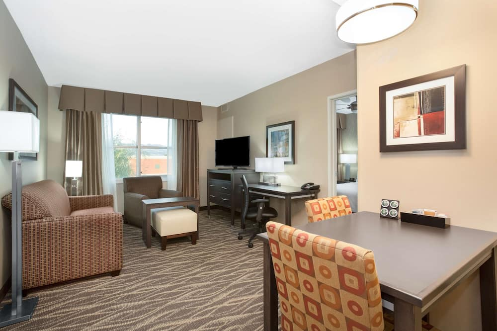 Suite, 1 Bedroom, Non Smoking (1 King Bed) - Living Area