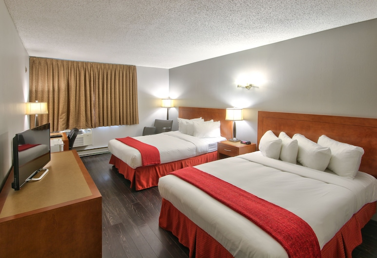 Howard Johnson by Wyndham Quebec City, Quebec, Room, 2 Double Beds, Non Smoking (First Floor), Guest Room