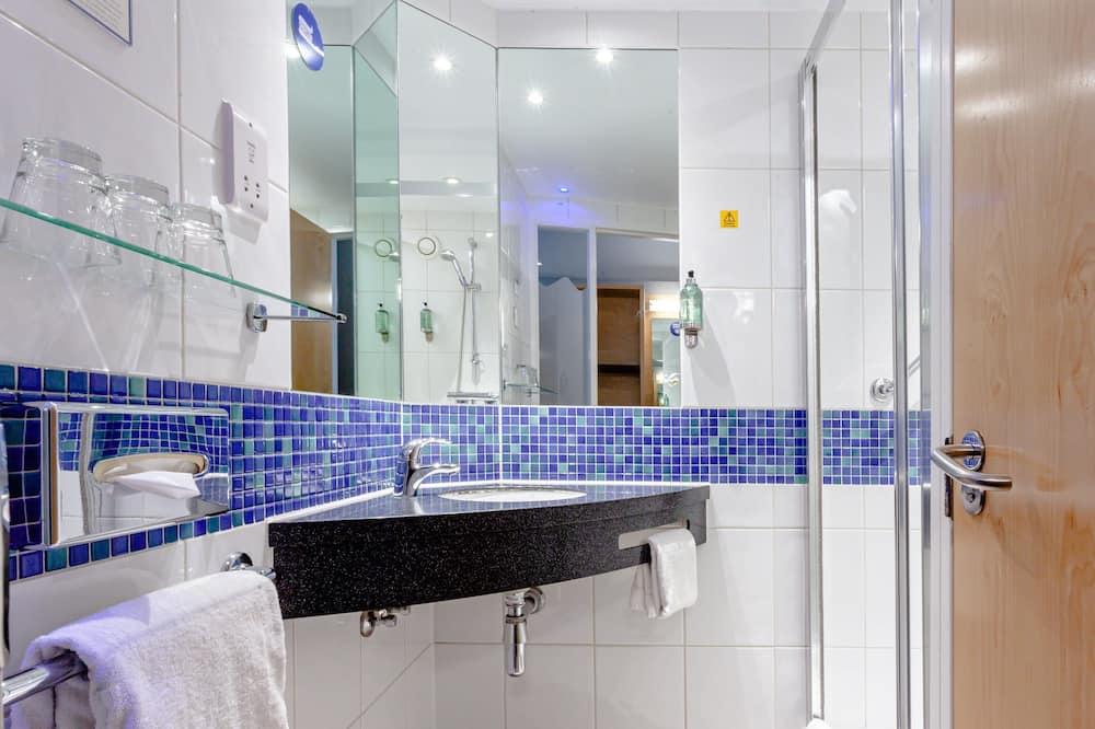 客房, 1 張標準雙人床及 1 張梳化床, 非吸煙房 (With Sofa Bed) - 浴室
