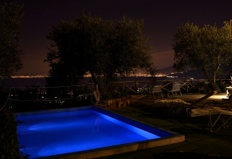 B&B Casa Mazzola, Sant'Agnello, Rooftop Pool