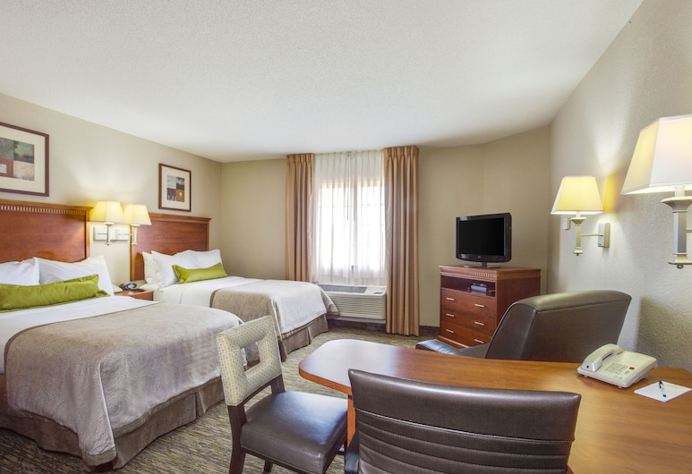 Candlewood Suites Virginia Beach Town Center, Virginia Beach, Studio Suite, 2 Double Beds, Guest Room