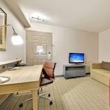 Suite, 1 kingsize bed, Toegankelijk voor mindervaliden, niet-roken - Woonkamer