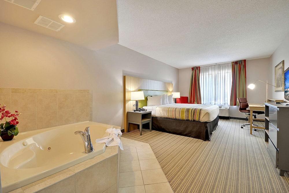 Suite, 1 kingsize bed, niet-roken, bubbelbad - Kamer