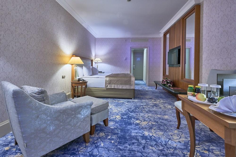 디럭스룸, 킹사이즈침대 1개 - 거실 공간