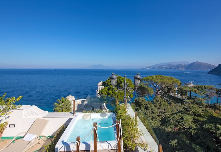 Luxury Villa Excelsior Parco, Capri, Terraza o patio