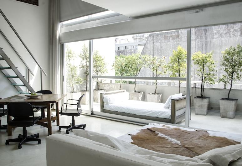 Design cE - Hotel Boutique de Diseño, Buenos Aires, Loft, 1 King Bed with Sofa bed, Balcony, Guest Room