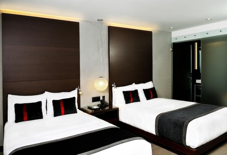 Hercor Hotel - Urban Boutique, Chula Vista, Kamar Double Deluks (2 Full XL Beds), Kamar Tamu