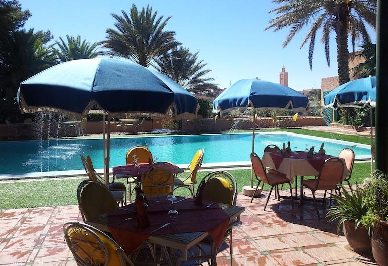 Kenzi Rissani Hotel, Errachidia, Utendørsbasseng